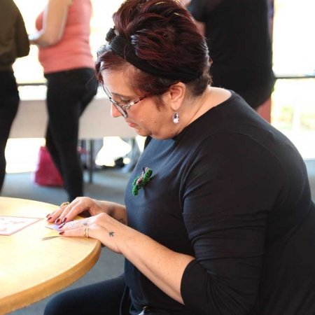 Origami Butterflies at World Mental Health Day