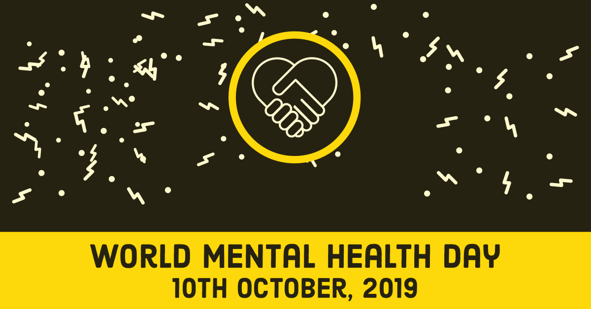 World Mental Health Day 2019, Dunstable, Bedfordshire